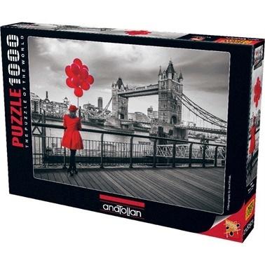 Anatolian  Puzzle 1000 Parça Tower Bridge 1040 Renkli